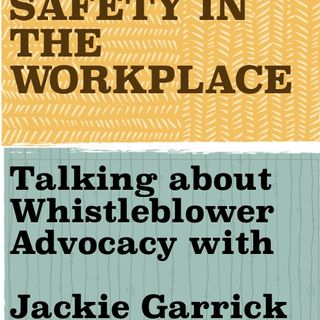 The Workplace with Jackie Garrick of Whistleblowers of America