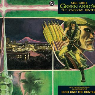"""Source Material #164 - Green Arrow """"The Longbow Hunters"""" (DC, 1987)"""