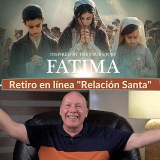 """Retiro en línea """"Relación Santa"""": Taller de película """"Fátima"""" con David Hoffmesiter"""