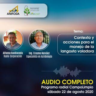 Programa CampoLimpio 22 de agosto (Langosta Voladora)