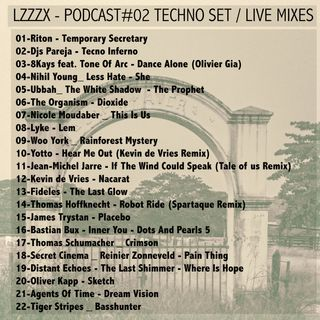 LZZ_ZX PODCAST TECHNO LIVE MIXES SET#02