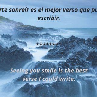 Verte sonreír