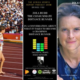 ZOLA BUDD THE CONSUMMATE DISTANCE RUNNER
