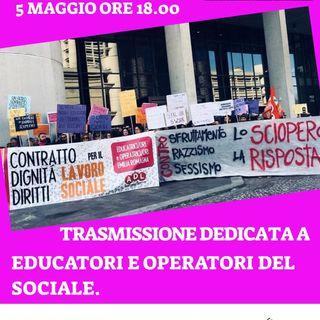 #7 Le condizioni di lavoro e le lotte degli educatori/trici ed operatori/trici del sociale