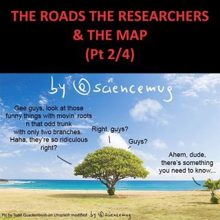 The roads the researchers & the map (Pt 2/4)