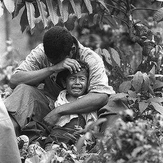 El impacto de la guerra en la niñez.