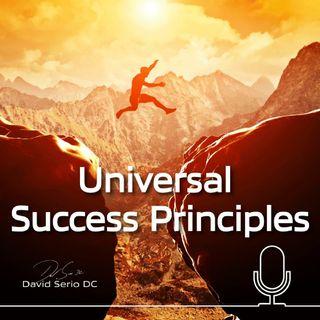 Episode 1- Dr. David Serio Success Principles