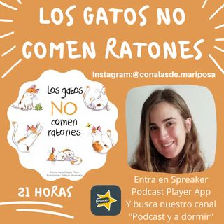 35. Los gatos no comen ratones. Irene Gómez Marín.