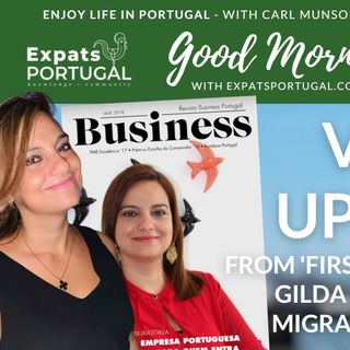 First and foremost Portuguese visa update with Gilda Pereira of Ei! Migration