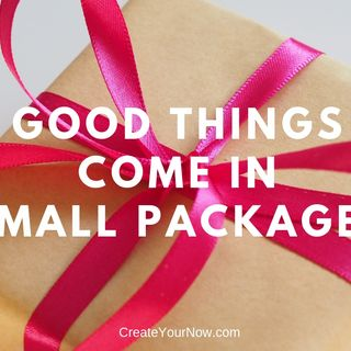 1423 Good Things Come in Small Packages