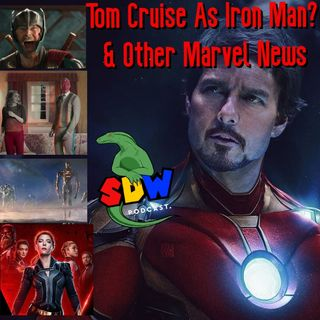 Tom Cruise As Iron Man? & Other Marvel News