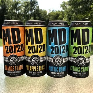 MD 20/20 Cans Barking At Your Door