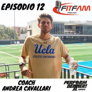 """Episodio 012, Andrea Cavallari: """"sottrarre il superfluo per un coaching di successo"""""""
