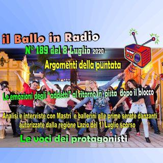 Tony Mantineo MUSICANDO il BALLO 189 Radio/Tv/Eventi/Opinioni