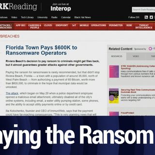 When Is It OK To Pay the Ransom for Ransomware? | TWiT Bits
