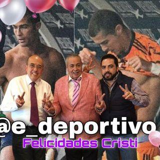 Llegamos al viernes, Felicidades Cristi, Cr7 en Espacio Deportivo de la Tarde 05 de Febrero 2021