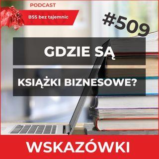 #509 Gdzie Znaleźć Dobre Książki O Tematyce BSS?