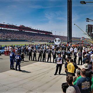 Auto Club 400 - NASCAR's Saint Patrick's Weekend With ACS President Dave Allen