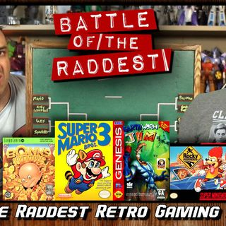 Battle of the Raddest: Retro Gaming Mascots [Tournament Bracket]