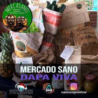 NUESTRO OXÍGENO Mercado sano Mercasano - Ana Milena Jiménez Ocampo