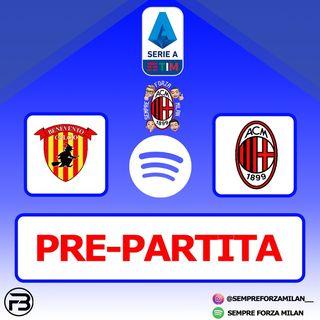 PRE PARTITA | BENEVENTO-MILAN