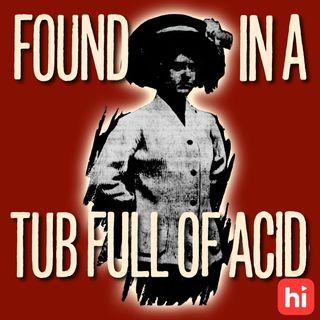 An Acid Bath For The Suffragist