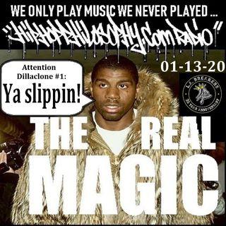 HipHopPhilosophy.com Radio - 01-13-20 - Monday Night Fresh