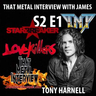 Tony Harnell of TNT, WESTWORLD & STARBREAKER S2 E1