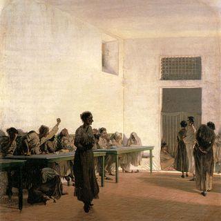 La Sala delle agitate signorini 1866