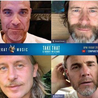 TAKE THAT: con una reunion virtuale, hanno realizzato un concerto in streaming per raccogliere fondi a sostegno della lotta contro il Covid.