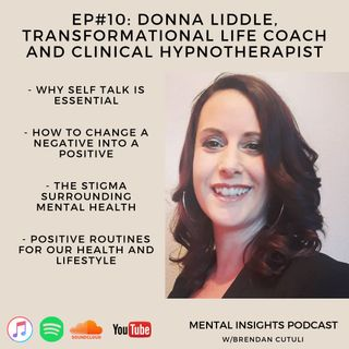 EP#10: Self Love, Trauma & Routines | Donna Liddle