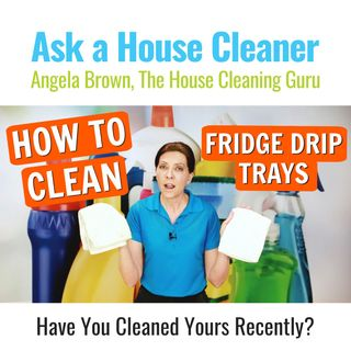 How to Clean a Fridge Drip Tray - Step by Step Cleaning Tutorial