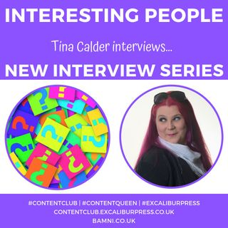 Tina Calder interviews...