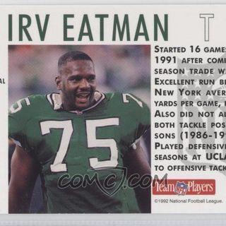 Legends of Football Show:Former USFL and NFL Legend Irv Eatman