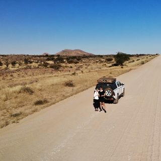 Namibia - pierwsze wrażenie, wyruszamy w drogę