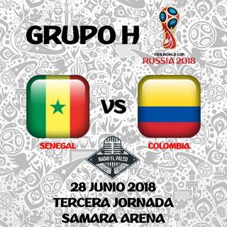 Senegal vs Colombia en VIVO