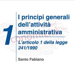 01 - i principi generali dell'attività amministrativa