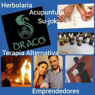 Entrevista con Draco Herbolaria, Acupuntura Su-jok, Herbolaria Y Terapia Alternativa.