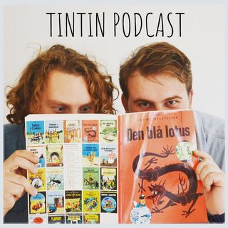 Tintin Podcast Merchandise - T-shirt, muleposer og kopper