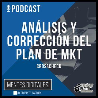 Análisis y Corrección - Crosscheck | Mentes Digitales by Prospect Factory