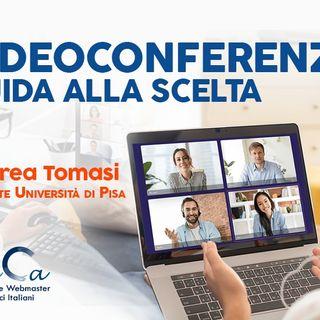 13 - Strumenti per videoconferenza con Andrea Tomasi