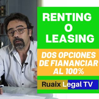 Financiacion para pymes y autonomos | Leasing o Renting | Que es | Renting Leasing Autonomos