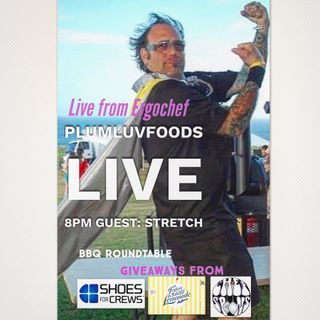 Plumluvfoods Se6 Ep 11 BBQ Live with Stretch