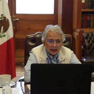 Olga Sánchez Cordero, pidió a los gobernadores generar condiciones para el regreso a clases