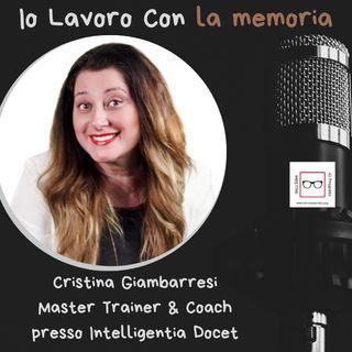 #33 Storie di professioniste coraggiose con Cristina Giambarresi