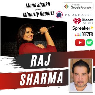 GETTING BEATINGS AS A CHILD WAS COMMON FOR HIM-Minority Reportz Podcast Ep. 3 w/ Raj Sharma (Laugh Factory Star)