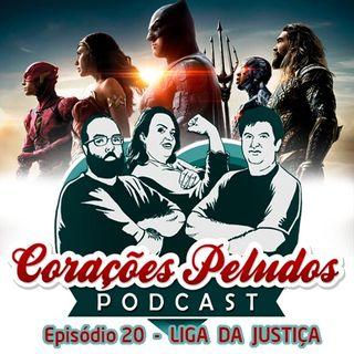 Corações Peludos 20 - Liga da Justiça