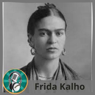 Maribel Coronil con Frida Kahlo