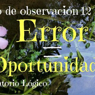 Error = Oportunidad= Apertura Temporal