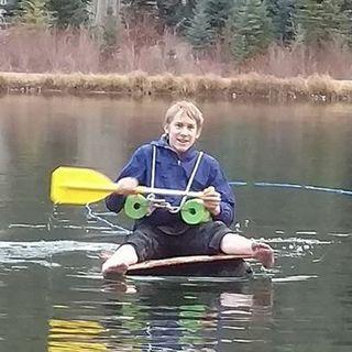Elijah's Milk Jug Boat
